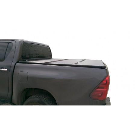 Жесткая трехсекционная крышка на Toyota Hilux Vigo Double Cab, 1.52m Bed