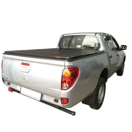 Жесткая трехсекционная крышка  Mitsubishi Triton L200 206-2013 Double Cab,1.325m Bed
