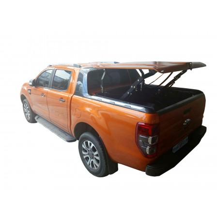 Крышка TopUp с дугами в 3 положения 2007-2013 Toyota Tundra 5.5 Extra Short Bed, цвет Grey
