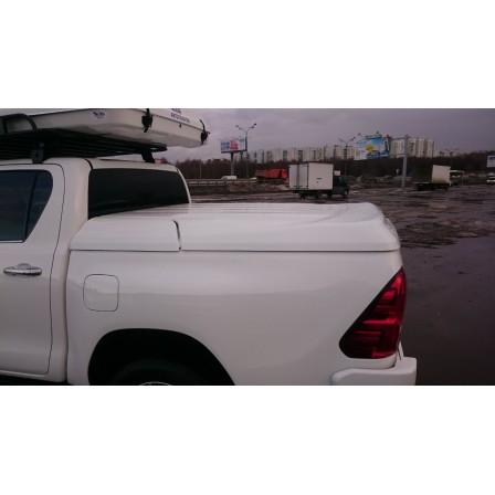 Крышка кузова для Toyota Hilux Revo  (Гелькоут белая/ черная)
